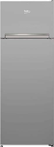 Beko RDSA240K30SN Kühl-Gefrierkombination / 0°C-Zone/38 dB/HxBxT: 145,8x54x60 cm/silbern/Doppeltürer