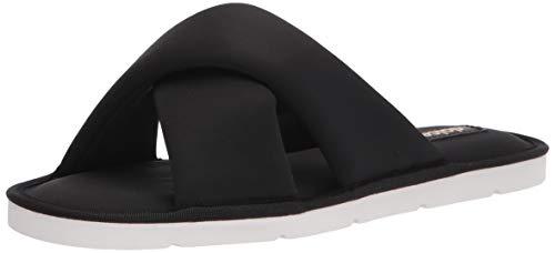 Dolce Vita Women's Parke Slipper, Black Neoprene, 8