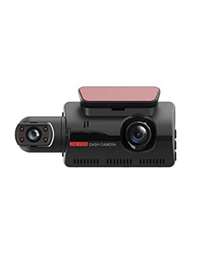 ACD Coche DVR Dash CAM Grabador de Video 3 en 1 Vista Trasera Cámara Dual Full HD Grabación de Ciclo de 3'