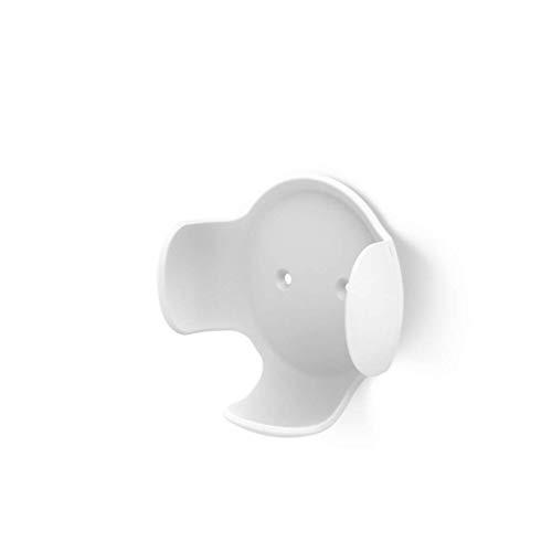 Hama Support mural pour Google Home mini (pour enceinte sans/avec fil, support d'enceinte, pour un alignement et une présentation optimaux de l'enceinte, montage mural) Blanc