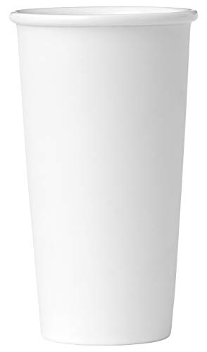 Viva Scandinavia 9102230 Tasse The 40 CL, Porcelaine, Blanc, 9,3 x 9,3 x 16,1 cm
