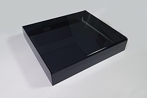 Plattenspielerhaube für DUAL-Plattenspieler der 5er, 6er & 7er-Reihe, Acryl, getönt