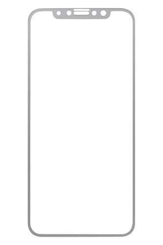 iFace iPhone11 Pro/XS/X 専用 ガラスフィルム 液晶保護シート [シルバー]