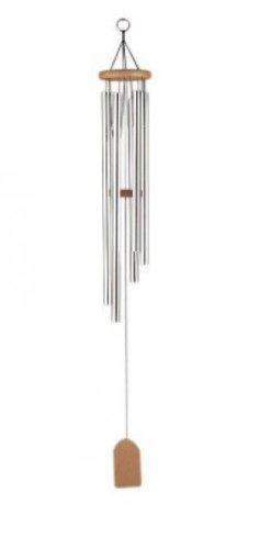 Windklangspiel, 6 Röhren, silb./natur, ca. 70 cm