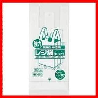 RK20 レジ袋(半透明) 関東20号・関西35号 10冊入