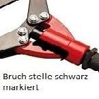 Bgs Diy 398 Scheren Blindnietzange 3 2 6 4 Mm 300 730 Mm Baumarkt