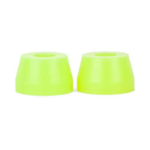 Sunrise Skateboards Gummies Longboard Bushings Double Cone Lenkgummis 85A - 95A Verschiedene Härten (85A Yellow - Soft)
