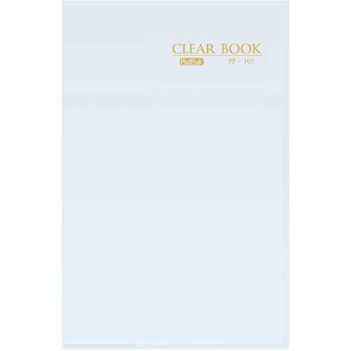 PASTA CATALOGO CLEAR BOOK PP OF.C/50 ENV.CRIST, Plast Park, 3865, Incolor