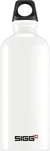 Sigg Bottle Traveller Borraccia 0,6-1 l, Bianco (Traveller White), 1 litro