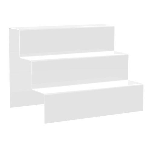 Displaypro Extra Grande acr/ílico 3 del Contador de Paso del Soporte de exhibici/ón