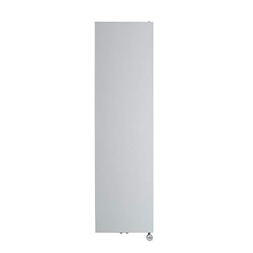 Hudson Reed Rubi - Design Flachheizkörper Elektrisch Vertikal Weiß 1800mm x 500mm inkl. 1000W Heizelement