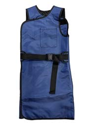 X-Ray Protection Apron - Wrap Around Lightweight Lead, Medium, Hook & Loop Closure, 0.5mm Front & Back Protection, Color Options, USA Made