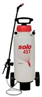 Solo 457-Rollabout 3-Gallon High Pressure Sprayer with Heavy Duty Wheels & Extra Long 72