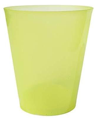 TELEVASO - 200 uds - Vaso Sidra 480 ml Reutilizable Ligero - Polipropileno (PP) - Color Amarillo - Vaso ecológico Libre de BPA, Ideal para Cerveza, cubatas, Agua