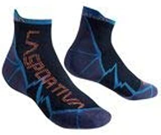 LONG DISTANCE SOCKS - L, Negro-Azul