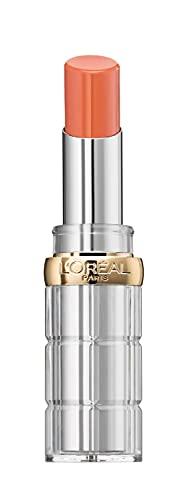 L'Oréal Paris Color Riche Shine 245 High on crazeB, pflegender Lippenstift für intensive Farbe und natürlichen Glanz