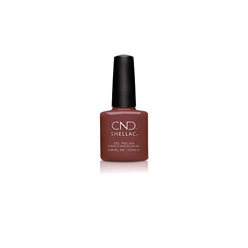 CND Shellac Oxblood, 7.3 ml/0.25 fl oz.