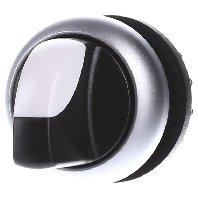 Eaton 216872 M22-WRK3 Wahltaste, Knebel, 3 Stellungen, schwarz, rastend, Bianco