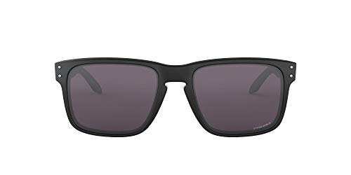 Oakley Herren Holbrook 9102e8 Sonnenbrille, Schwarz (Negro/Mate), 0