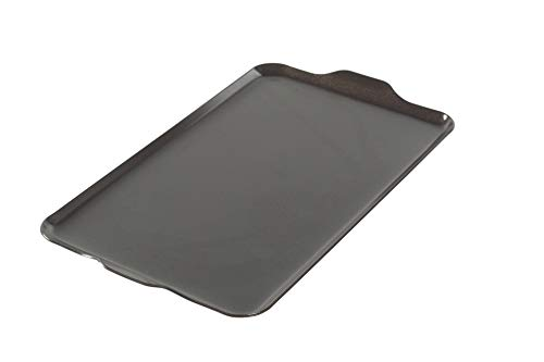 "Nordic Ware 10-1/4-Inch by 17-1/2-Inch 10230AMZ 2 Burner Griddle 16.5"" x 9.875"" x .375"", Black"