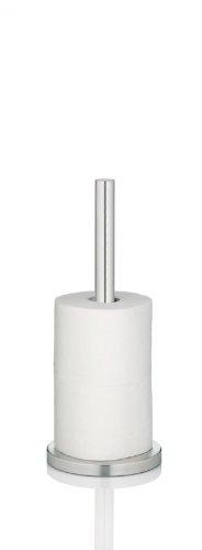 Kela 22827, Toilettenpapierhalter für 3 Rollen, Edelstahl, Carta, 37cm, Silber Matt