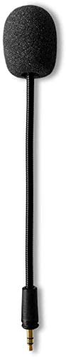 Turtle Beach Replacement Mic 3.5mm Detachable Gaming Microphone Boom for PDP Afterglow AG6 Ear Force Turtle Beach Xbox One Stealth 400 420x 450 500p 520 Recon 50x 50p 50 60p