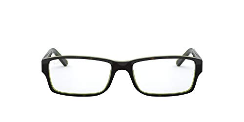 New Ray Ban RB RX 5169 2034 Black Crystal Frame Plastic Eyeglasses, Black...