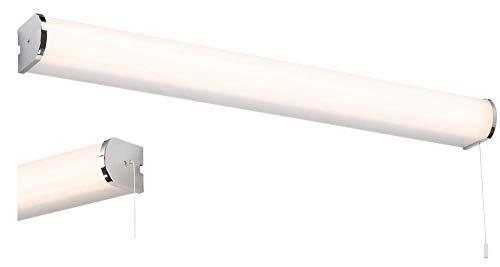 Knightsbridge 15 W LED badrum vägglampa 15 W polerad krom