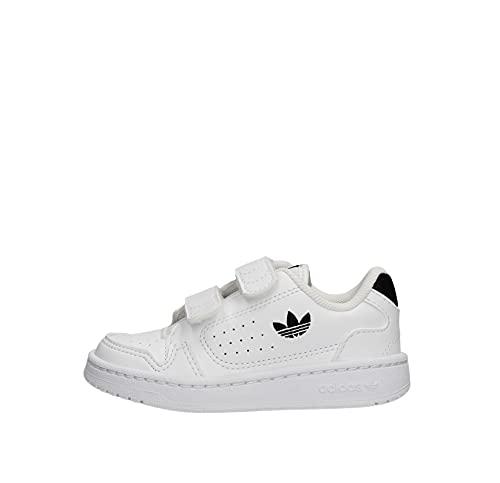 Adidas NY 90 CF I,  Zapatillas de Gimnasio Unisex niños,  FTWR White/Core Black/FTWR White,  23 EU