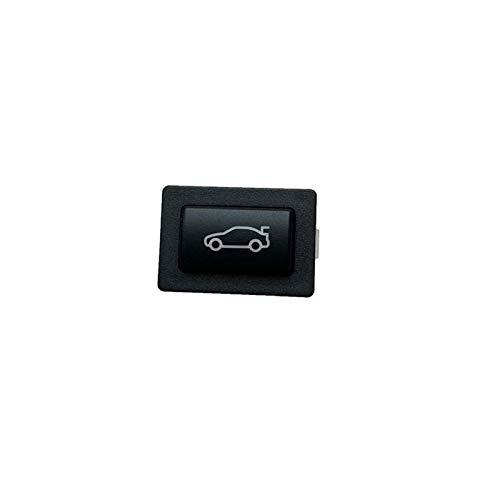 ZHENGYI Botón De Troncal De Coche Actualizado Botón De Desbloqueo Interruptor De Cubierta De Cola Ajuste para BMW 3 5 7 FSERIES F20 F30 F35 F10 F11 F01 F02 (Color : Black)