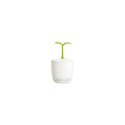 ZQ Life Fleurs Smart Audio Lampe LED Lit d'alimentation Lampe Intelligent Sapling Audio sans Fil Bluetooth