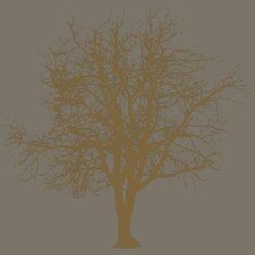 """Preisvergleich Produktbild 20 Servietten """"Branch Kupfer"""" - Baum Äste Fungi / Kupfer"""