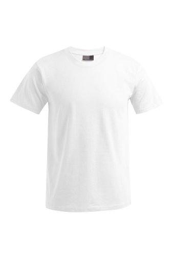 E3000-3er Pack Herren Premium T-Shirt T-Shirts Rundhals in Gr. 3XL, 4XL oder 5XL (fällt groß aus), Farbe:White;Herrengrößen:3XL