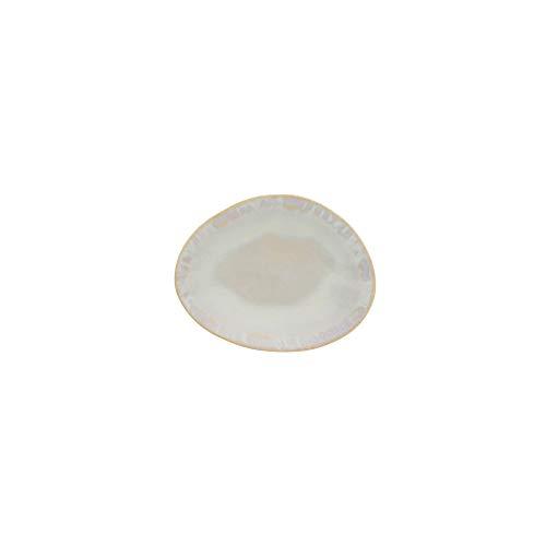 Costa Nova Colección Brisa Plato Pan, 16 CM, Gres (Sal)