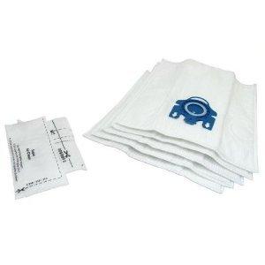 Miele GN Staubsaugerbeutel X 5& Filter–Mikrofaser Staubbeutel mit Kunststoff Tasche Rahmen–Auspuff Filter geeignet für S2110,,, S300i, S400, S400I, S5000, S600Und S800Serie Katze und Hund–von RADVAC