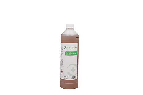 NeutraVil Haarfrei Abflussreiniger 1 L - Flüssiger Abflussreiniger, Rohrreiniger - Effektiv bei Verstopfungen durch Haare, Schmutz, Seife in Bad und Küche
