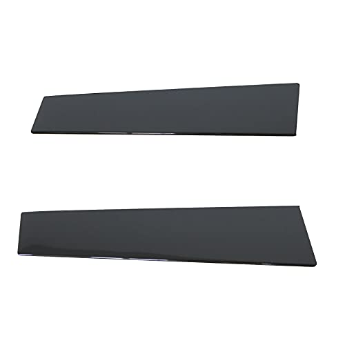 B Pillar Trim Door Molding for Driver and Front Passenger Side, Front Windshield Outer Door Molding Fit for Ford Explorer 2011-2016
