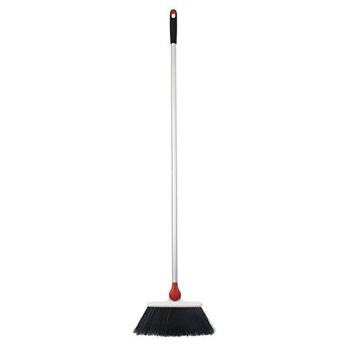 OXO Good Grips Any Angle Broom,Silver,1 EA