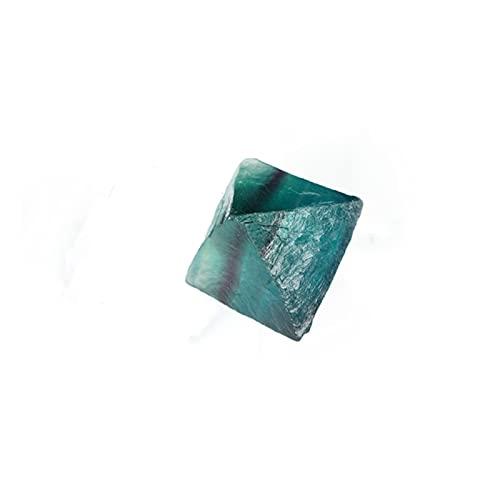 YSJJDRT Cristallo Naturale Grezzo 1pc Natural Clear Blue Fluorite Crystal Point Octaedron Rough Specimens Garden Wedding Home Artigianato Evento del Partito (Color : 1pc)