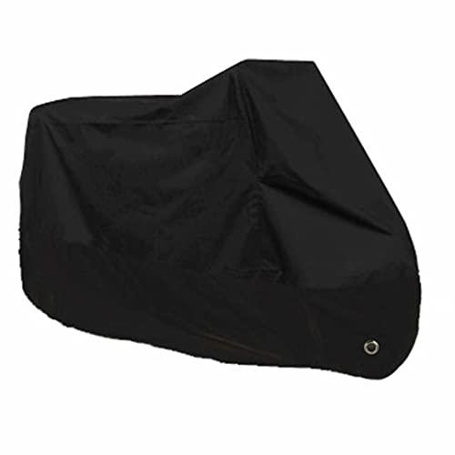Cubiertas De Motocicleta para Todas Las Estaciones con Orificios De Bloqueo Impermeable Protectora Prueba De Sol Lluvia Polvo Viento Nieve Excremento De PáJaro Al Aire Libre