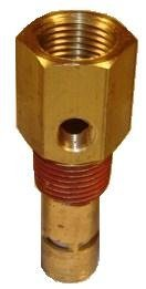 """New In tank Check valve for air compressor 3/8"""" FPT x 1/2"""" MPT by CDI/STEUBY/CONRADER"""