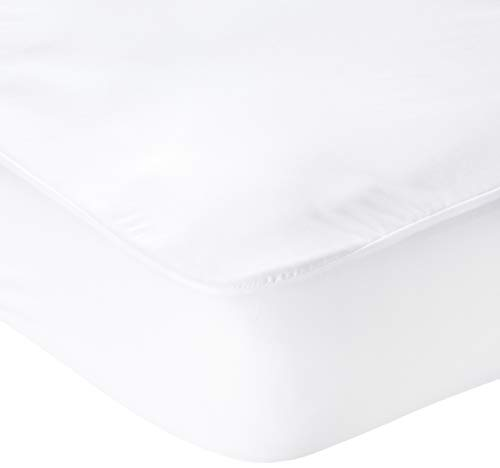 WEEKENDER Fitted Jersey Mattress Protector with Quiet Waterproof Barrier