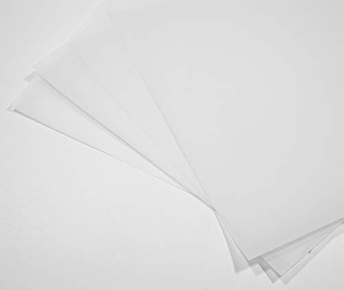 50 Blatt Weiß Transparentpapier 100g DIN A4 210x297mm Golden Star, Pauspapier zum Bedrucken, Basteln, Dekorieren, Gestalten edler Hochzeitseinladungen, Glückwunschkarten, Speisekarten, Gutscheine