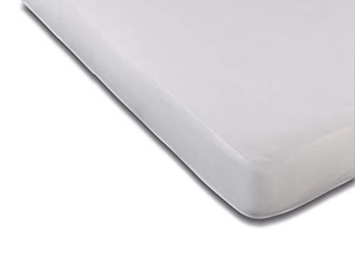 Flex Protège-Matelas Tencel Polyurethane, Blanc 180 x 200 cm