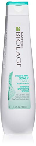 BIOLAGE Cooling Mint Scalpsync Shampoo | Cleanses Excess Oil From The Hair & Scalp | For Oily Hair & Scalp | 13.5 Fl. Oz.