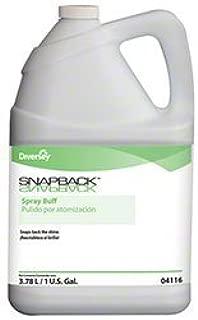 Diversey 904116 Snapback Spray Buff, Industrial-Strength Diversey Snap Back Spray Buff, Restores Brilliance & Shine to Dull Floors (4/cs)