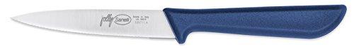 Sanelli 335711.N Jolly Line Messer Microzahnkante Farblänge 11 cm, schwarz