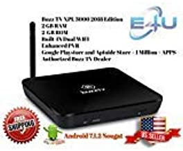 BuzzTV XPL3000 2018 Edition Android based IPTV Set-top-Box and Streaming Media Player (Black) (USA seller)