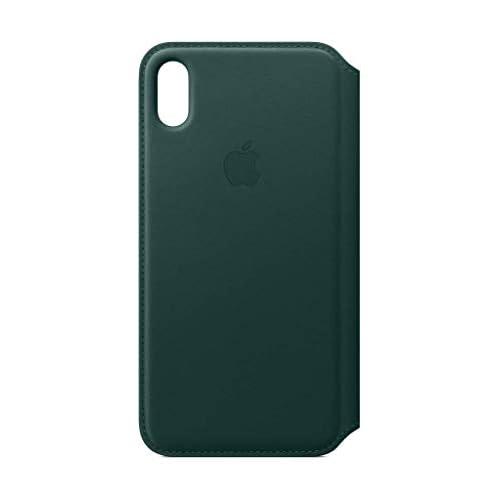 Apple Custodia folio in pelle (per iPhoneXSMax) - Verde foresta