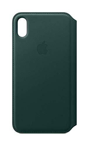 Apple Leren Folio-hoesje (voor iPhone XS Max) - Bosgroen